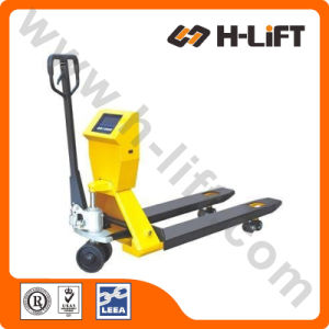 Hydraulic Hand Pallet Truck with Scale (PT-BFC Type) pictures & photos