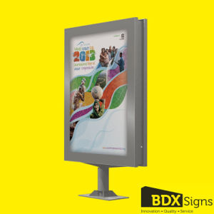 #242 T-0 Double Sided Scrolling Sign/Light Box pictures & photos