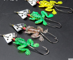 Soft Body Fishing Frog Fishing Lure pictures & photos
