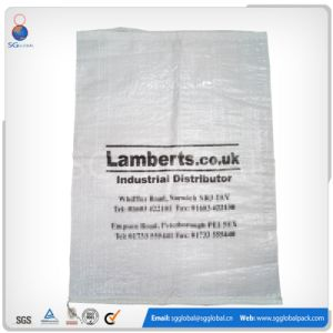 50kg White PP Woven Sugar Bag pictures & photos