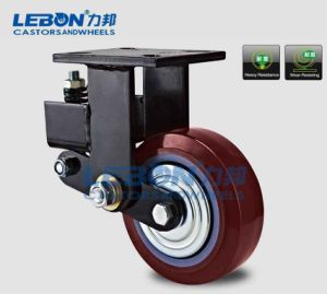 50mm PU Swivel Absorber Industrial Caster