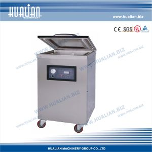 Hualian 2015 Vacuum Sealer Food Bag Packing Machine with Gas (DZQ-500/2E) pictures & photos