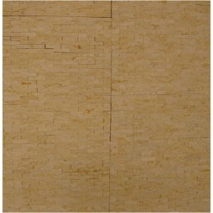 Natural Stone Yellow Marble Mosaic for Wall pictures & photos