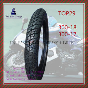 Long Life ISO Nylon 6pr Motorcycle Tyre 300-18, 300-17 pictures & photos