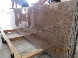 Polished Red Granite Slabs-Tianshan Red pictures & photos