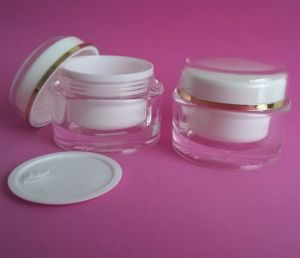 50ml Acrylic Jars with Cover Disc pictures & photos