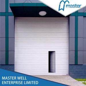 China automatic metal sectional industrial garage door for Commercial garage door motor