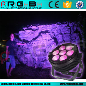 Newest RGBWA 7X25W LED PAR Light for Outdoor Lighting pictures & photos