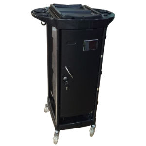 ABS Material Hair Salon Trolley with Door (DN. A128) pictures & photos