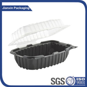 Disposable Big Volume Plastic Food Container with Cover pictures & photos
