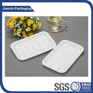 Plastic Disposable Food Tray Food Contatiner with Cover pictures & photos