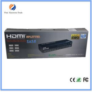 1X16 HDMI Splitter 16 Port, Support Cec, Hdcp, 3D 1080P pictures & photos