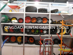 Pr1402 2.80/2.50-4 Hand Pallet Truck Rubber Wheel, Pneumatic Rubber Wheel pictures & photos