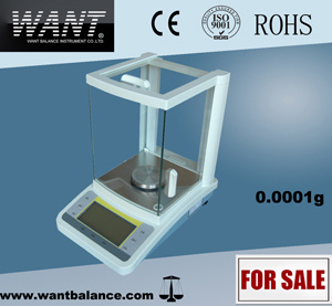 High Resolution Electronic Balance (100g 0.0001g) pictures & photos