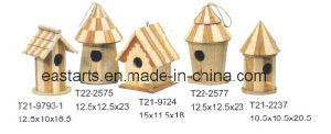 Wooden Kids Toy House Model