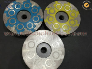 Resin Filled Cup Wheel for Concrete Granite pictures & photos