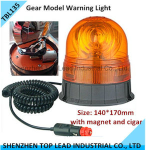 High Quality Gear Model Helogen Warning Light with Magnet and Plug
