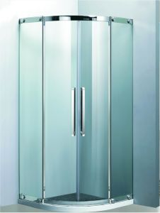 Sector Middle Sliding Stainless Steel Frame Shower Enclosure (09-102) pictures & photos