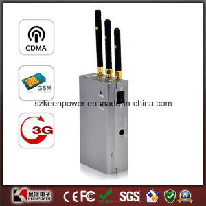 3W Cell Phone Jammer GSM CDMA 3G Dcs Signal Blocker pictures & photos