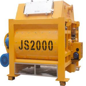 Construction Equipment Js2000 Compulsory Concrete Mixer pictures & photos