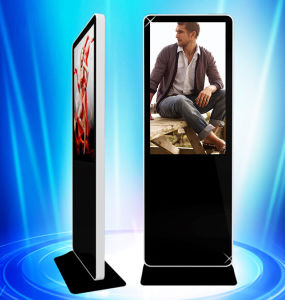 Inddoor Application 58 Inch Advertising Display Monitor Stand pictures & photos