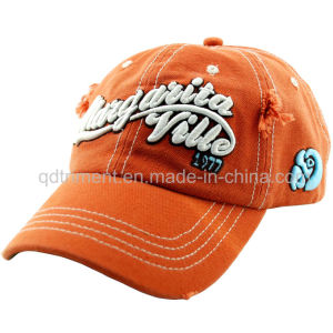 Washed 100% Cotton Embroidery Baseball Sport Cap (TMB6274) pictures & photos