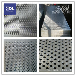 Stainless Steel 410 Perforated Metal Plate pictures & photos