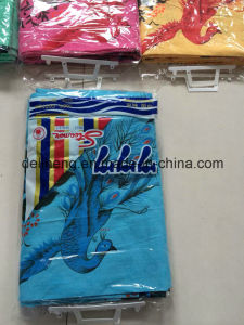 Peacock Design T/C 50/50 Colored 777 Printed Bedsheet pictures & photos