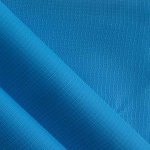 Ripstop 1mm Oxford PU Waterproof Nylon Fabric pictures & photos