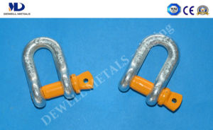 Hot Dipped Galv. G2130 U. S Type Drop Forged Bow Shackle pictures & photos