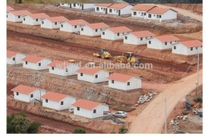Prefabricated House Project in Africa pictures & photos