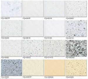 Artificial Marble/ Quartz Stone for Slabs and Countertops pictures & photos