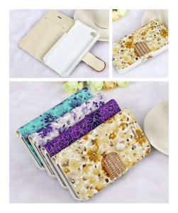 Painting Flip Wallet TPU Cellphone Case for iPhone 5s pictures & photos