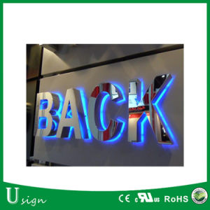 316 Type Mirror Finished Stainless Large 3D Letters for Outdoor Advertising pictures & photos