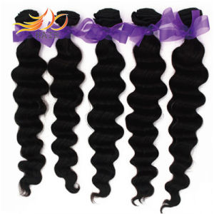 Natural Color Loose Deep Wave Brazilian Virgin Remy Hair Extension pictures & photos