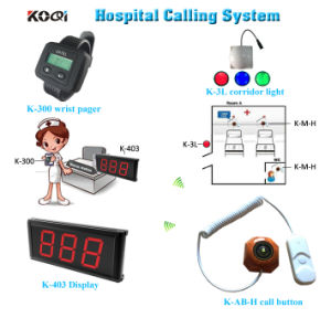 Top Popular Hospital Call Light Equipment for Elderly Nurse Call Bell System pictures & photos