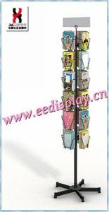 4 X 6 Gift Card Display Rack, 24 Pocket Postcard Display Stand