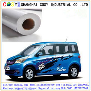 Digital Printing PVC Self Adhesive Vinyl Film Car Sticker for Bus Advertising pictures & photos