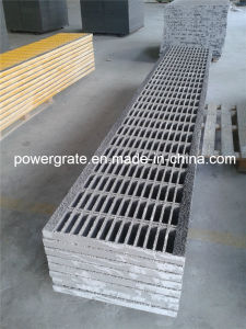 Fiberglass GRP/FRP Stair Tread, FRP Grating pictures & photos