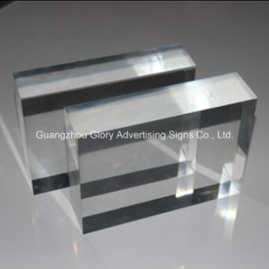 High Quality and Transparent Thick PMMA Sheet / Casting Acrylic Plate pictures & photos