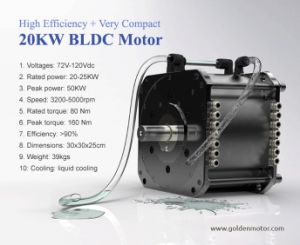 China high efficiency ev motor 20kw electric car for Electric outboard motor conversion
