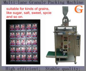 Multi-Lane 4 Sides Sachet Salt Packaging Machine (sugar; nuts;) pictures & photos