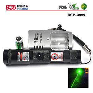 Adjustable Focus Green Laser Torch 200mw (BGP-3998)