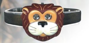 Tiger Vinyl LED Head Lamp for Kids (MC1033) pictures & photos