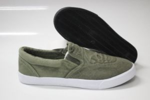 Men Casual Canvas Shoes with Slip on (SNC-230007) pictures & photos