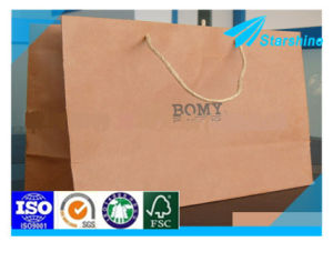 Fine Food Grade Kraft Paper for Making Bags pictures & photos