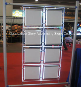 Double Sided Hanging Crystal Light Box pictures & photos