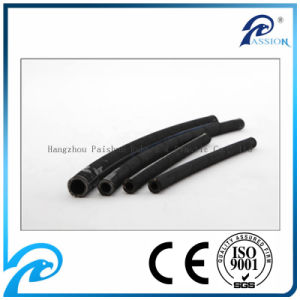 "3/8"" SAE 100r2/2sn Hydraulic Rubber Hose for Construction pictures & photos"