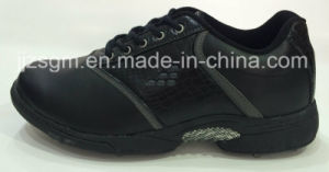 White/Black Fashion Lace-up Golf Shoes pictures & photos