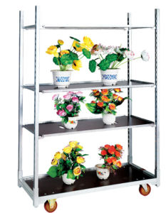 Plant Trolley / Flower Trolley / Nursery Trolley pictures & photos